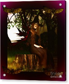 Witchy Woman Acrylic Print