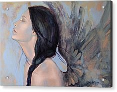 With Ancient Love Acrylic Print by Dorina  Costras
