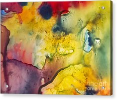 With Love Acrylic Print by Justyna JBJart