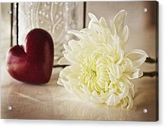 With Love Acrylic Print