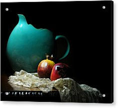 With Pomegranate Acrylic Print