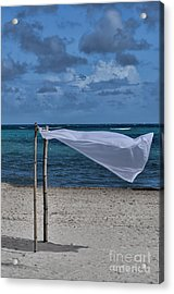 With The Wind Acrylic Print