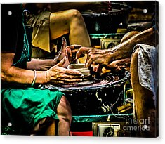 With These Hands.... Acrylic Print