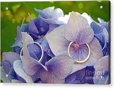 With This Ring  Acrylic Print by Mindy Bench