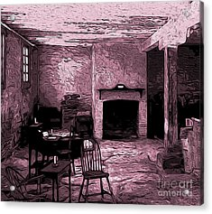 Within The Commissary Acrylic Print by R McLellan