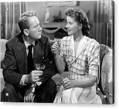 Without Love, From Left, Spencer Tracy Acrylic Print by Everett