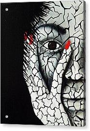 Without Moisturizer Acrylic Print by Edwin Alverio