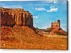Acrylic Print featuring the photograph Witnesses Of Time by Hanny Heim