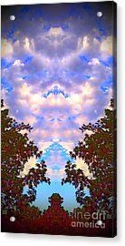 Acrylic Print featuring the photograph Wizards In The Clouds by Karen Newell