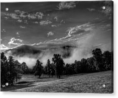 Wnc Morning In Black And White Acrylic Print