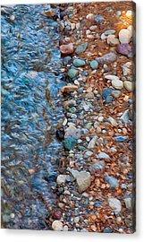 Wolf Creek Downstream Acrylic Print by Omaste Witkowski