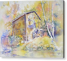 Wolf Creek Grist Mill Acrylic Print