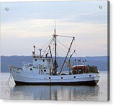 Wolf Larsen Boat Acrylic Print