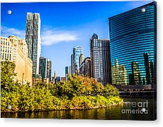 Wolf Point In Chicago Acrylic Print by Paul Velgos