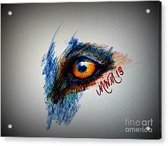 Wolf Sees Digital Acrylic Print