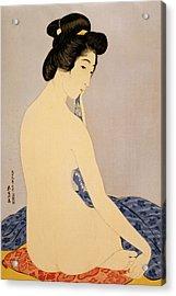 Woman After Bath Acrylic Print