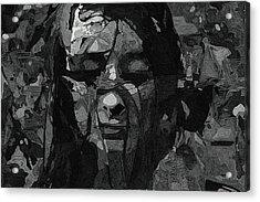 Woman In Serenity Acrylic Print by Ayse Deniz