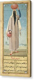 Woman Of Baghdad Acrylic Print by British Library