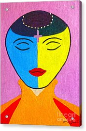 Woman Of Enlightenment Acrylic Print