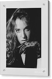 Acrylic Print featuring the photograph Woman Portrait by Jeepee Aero