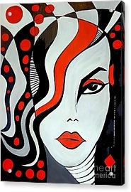 Women 452-09-13 Marucii Acrylic Print