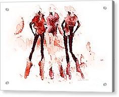 Women 500-11-13 Marucii Acrylic Print