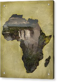 Women Of Africa Acrylic Print by Nichon Thorstrom