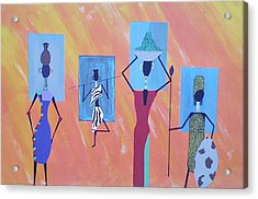 Women Of Color Acrylic Print