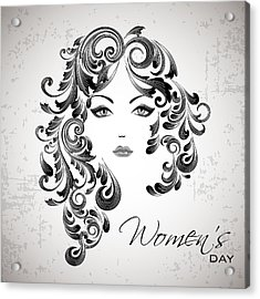 Women's Day Usa Acrylic Print by Stanley Mathis