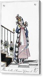 Women's Fashion, C1814 Acrylic Print by Granger