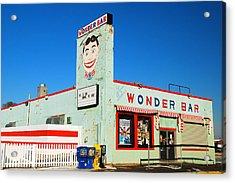 Wonder Bar Asbury Park Acrylic Print by James Kirkikis