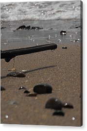 Wonder On This Beach Acrylic Print
