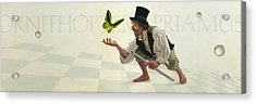 Acrylic Print featuring the painting Wonder by Ron Crabb