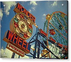 Wonder Wheel - Coney Island Acrylic Print