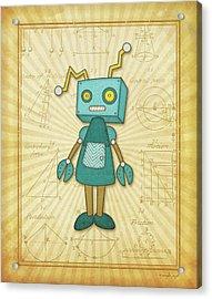 Wonderbot Acrylic Print
