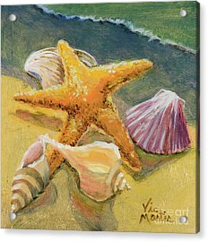 Acrylic Print featuring the painting Wonderful Find by Vic  Mastis