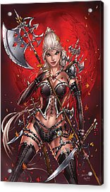 Wonderland 05c Acrylic Print by Zenescope Entertainment