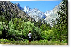 Acrylic Print featuring the photograph Wonderment by Marilyn Diaz