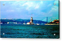 Acrylic Print featuring the photograph Wonders Of Istanbul by Zafer Gurel