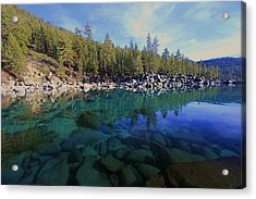 Acrylic Print featuring the photograph Wondrous Waters by Sean Sarsfield