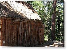 Wood Barn At Lake Tahoe Acrylic Print
