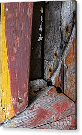 Acrylic Print featuring the photograph Wood Craft by Robert Riordan