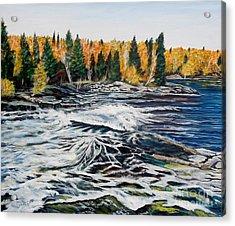 Wood Falls 2 Acrylic Print