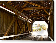 Wood Fame Bridge Acrylic Print