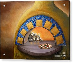 Wood Fired Acrylic Print