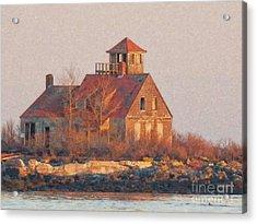 Wood Island Acrylic Print
