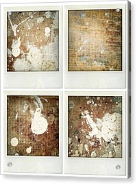 Wood Acrylic Print by Les Cunliffe
