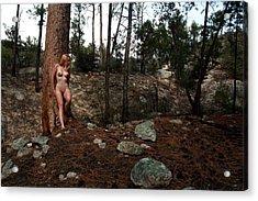 Wood Nymph Acrylic Print by Joe Kozlowski