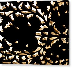 Wood Work Acrylic Print by Christi Kraft