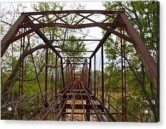 Woodburn Bridge Indianola Ms Acrylic Print